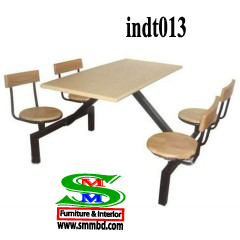 Industrial worker dining table (013)