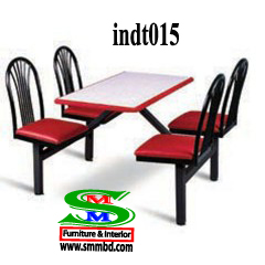 Industrial worker dining table (015)