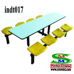 Industrial worker dining table (017)