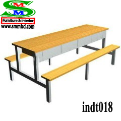 Industrial worker dining table (018)
