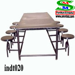 Industrial worker dining table (020)