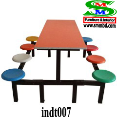 Industrial worker dining table (007)