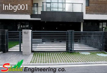 Industrial Boundary Gate (001)