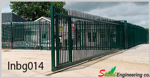 industrial boundary gate