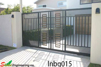 Industrial Boundary Gate (015)