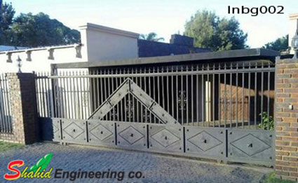 Industrial Boundary Gate (002)