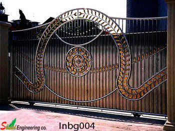 Industrial Boundary Gate (004)