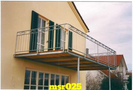 Ms balcony railing grill