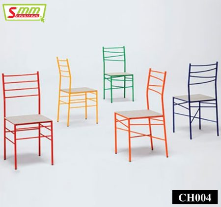 Colorful Metal Chair Set