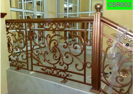 Casting Stair Railing (002) New Model