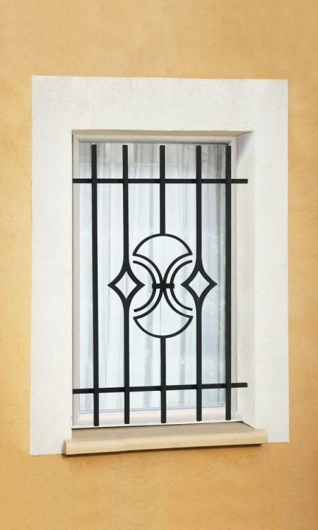 Ms window grill for Design fer forge fenetre