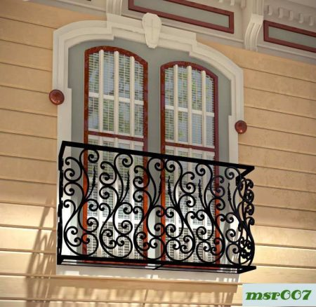Ms balcony railing grill(007)