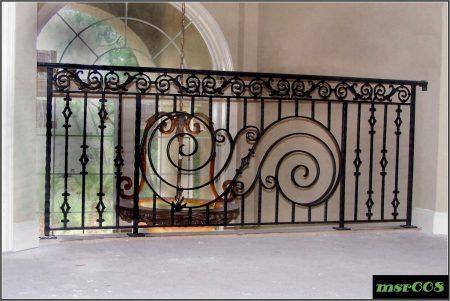 Ms balcony railing grill(008)