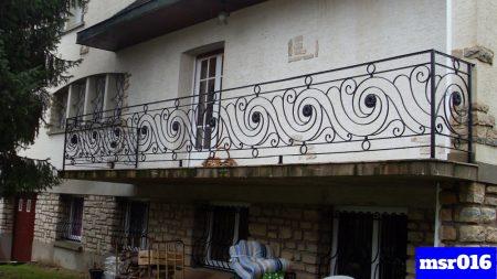 Ms balcony railing grill(016)