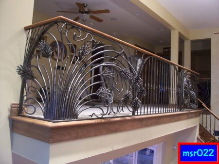 Ms balcony railing grill(022)