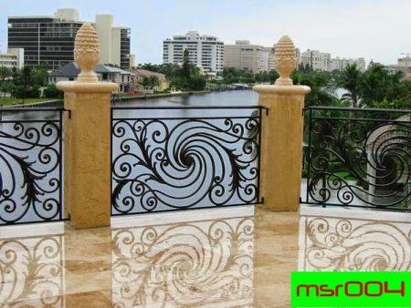 Ms balcony railing grill(004)