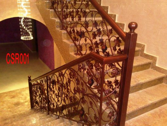 custing stair railing
