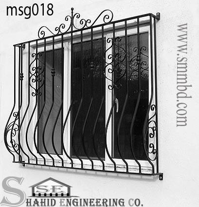 MS Window Grill(018)Bangladesh