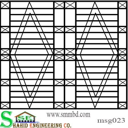 MS Window Grill(023)