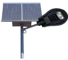Solar LED Street light full system with sensor