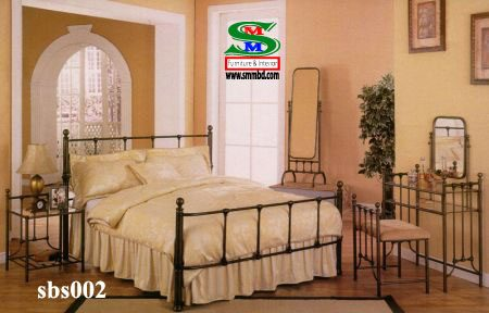 Steel Bed Room Set (002)