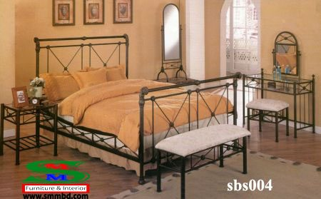 Steel Bed Room Set (004)