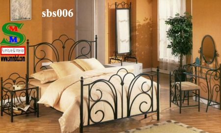Steel Bed Room Set (006)