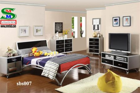 Steel Bed Room Set (007)