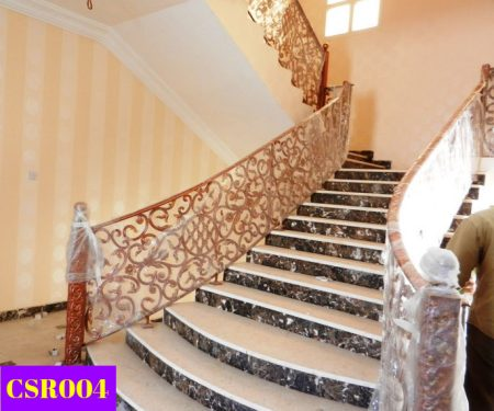 Casting Stair Railing Design (004) New Design