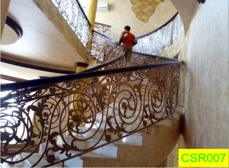 Casting Stair Railing (007)