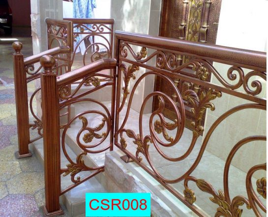 Casting Stair Railing (008) new model railing
