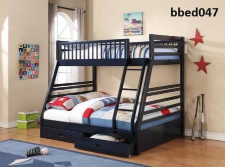 Bunk bed with box (047)