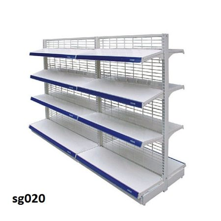 Double side gondola shelves for shop (020)