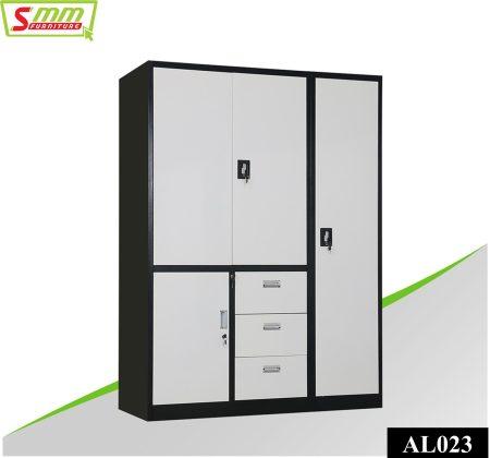Bedroom Almira with Locker & Wardrobe (AL023)
