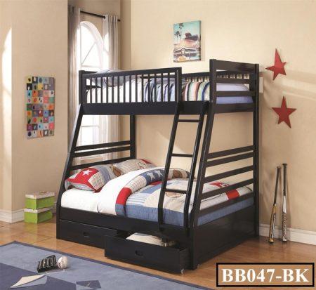 Wardrobe with Bunk Bed
