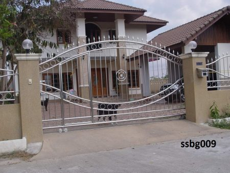 Stainless Steel Boundary Gate (009)