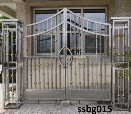Stainless Steel Boundary Gate (015)