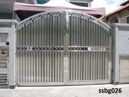 Stainless Steel Boundary Gate (026)