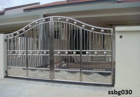 Stainless Steel Boundary Gate (030)
