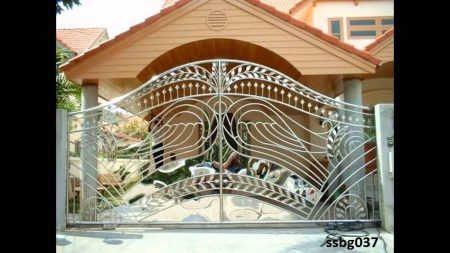 Stainless Steel Boundary Gate (037)