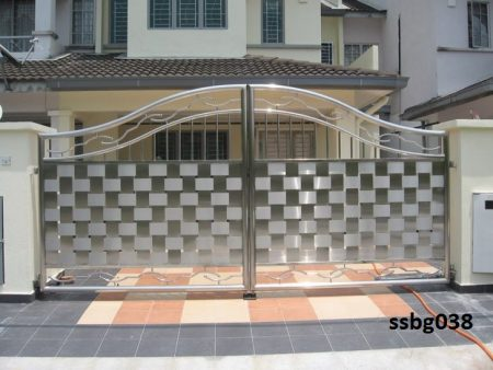 Stainless Steel Boundary Gate (038)