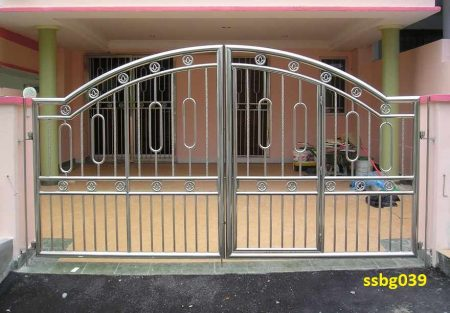 Stainless Steel Boundary Gate (039)