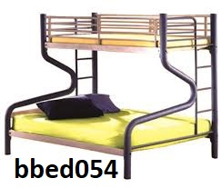 Bunk bed with desk & self  (054)
