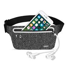 Joyroom Adjustable Running Belt Waist Pack for Walking, Cycling, Gym (Black)CY210