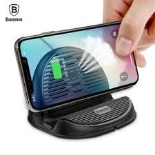 Baseus Silicone Horizontal Desktop Wireless Charger