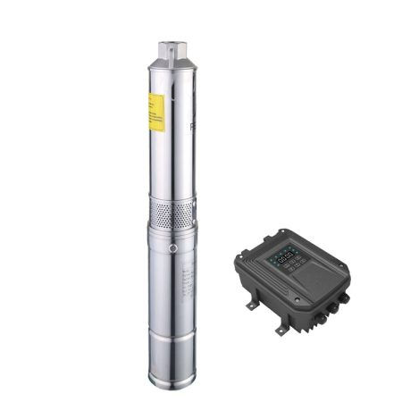24V 300W dc brushless solar submersible pump deep well solar water pump