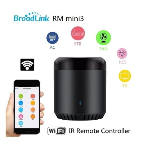 Broadlink RM Mini 3 Black Bean Smart Home Wifi Universal IR Smart Remote Controller