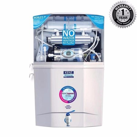 Kent Supreme Mineral Ro Water Purifier – White