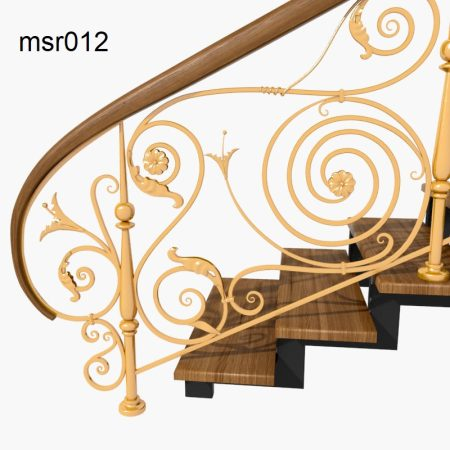 Casting Stair Railing (012)  new model railing