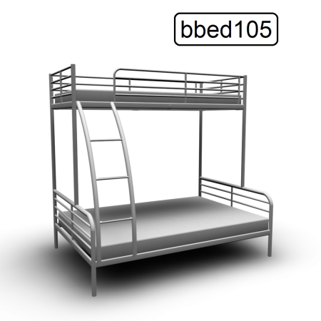 Double Steel Bunk Bed